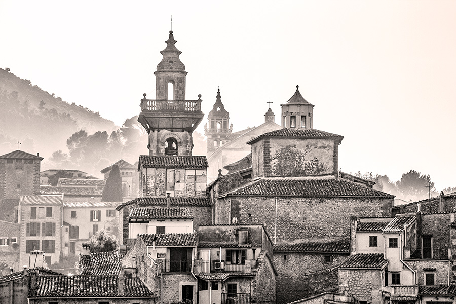 Black and White Photography of Mallorca